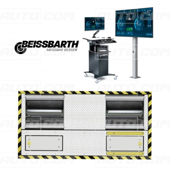 Beissbarth Stand franare auto BD 4431 + Tester Suspensie SA 640